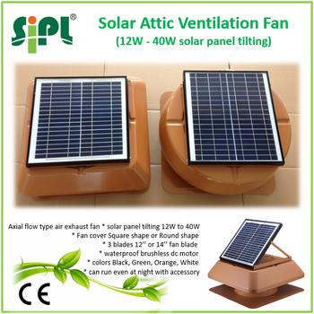 Solar Fan Solar Fan Extractor