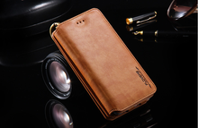 2017 wholesale mobile cell phone accessory new trend book style flip PU leather case for iPhone 6s 7 Plus