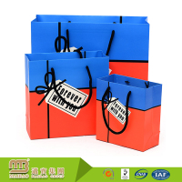 Wholesale Cheap Small Shopping Package Custom Printed Different Sizes Mixed Color Paper Bags For Boutique Gifts
