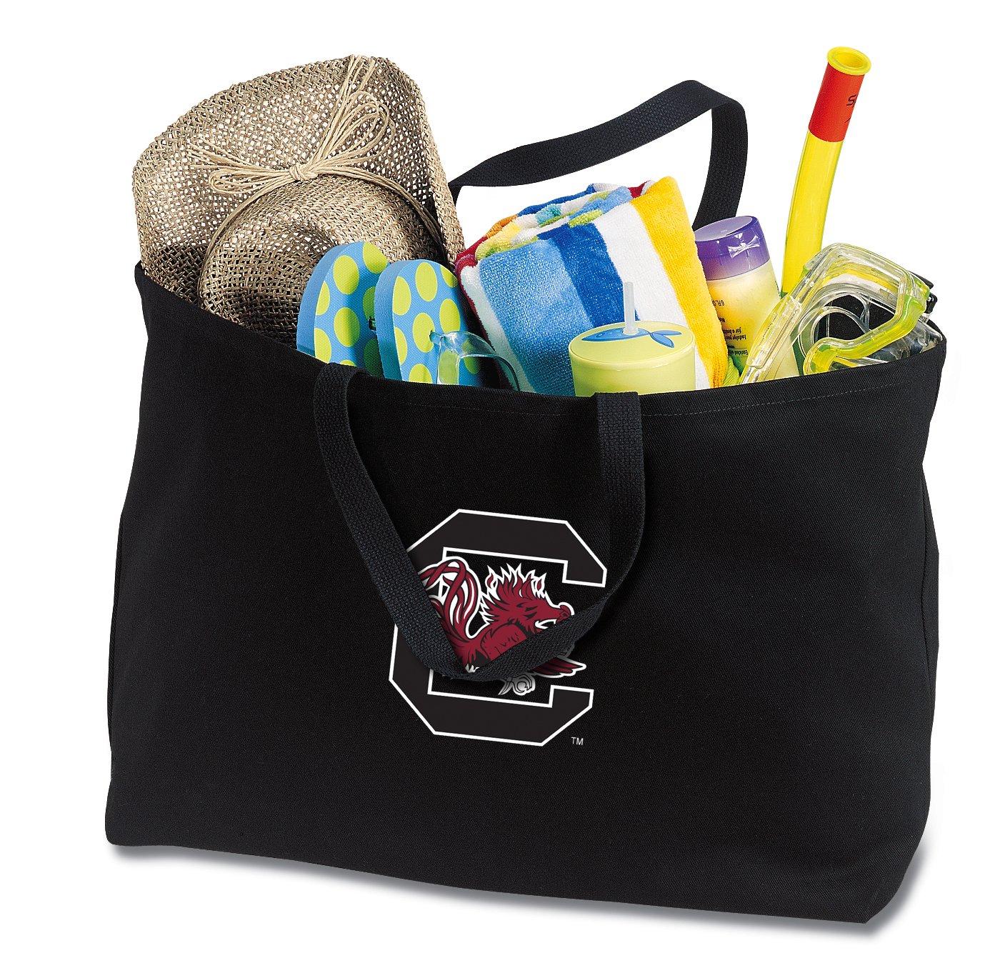 JUMBO South Carolina Tote Bag or Large Canvas University of South Carolina Shopping Bag