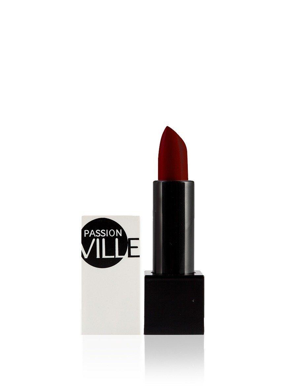 PASSION VILLE Matte Lipstick Colour 21 Bordeaux Wine Created by 287s