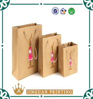 Custom printing fashion reusable foldable paper shopping guangzhou bag