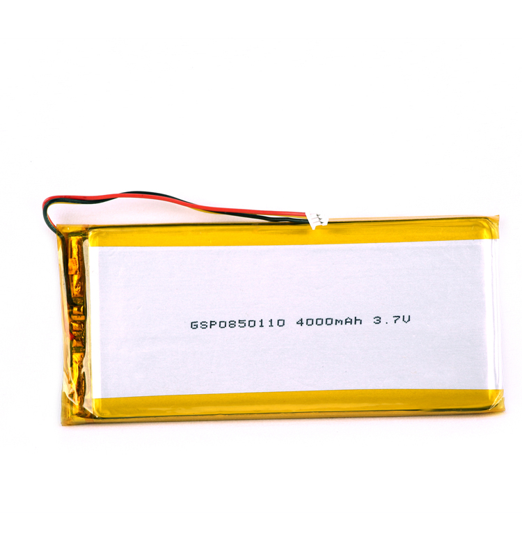 Tablet 3.7v li-polymer battery 4000mah gsp0850110 for DVD player