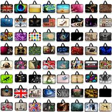 7 10 12 13 15 17 Customizable Neoprene Laptop Bag Tablet Sleeve Pouch For Notebook Computer Bag 13.3 15.4 17.3 For Macbook IPad