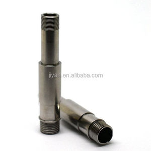 Customized CNC lathing machining 15mm 304 stainless steel tube precision machined