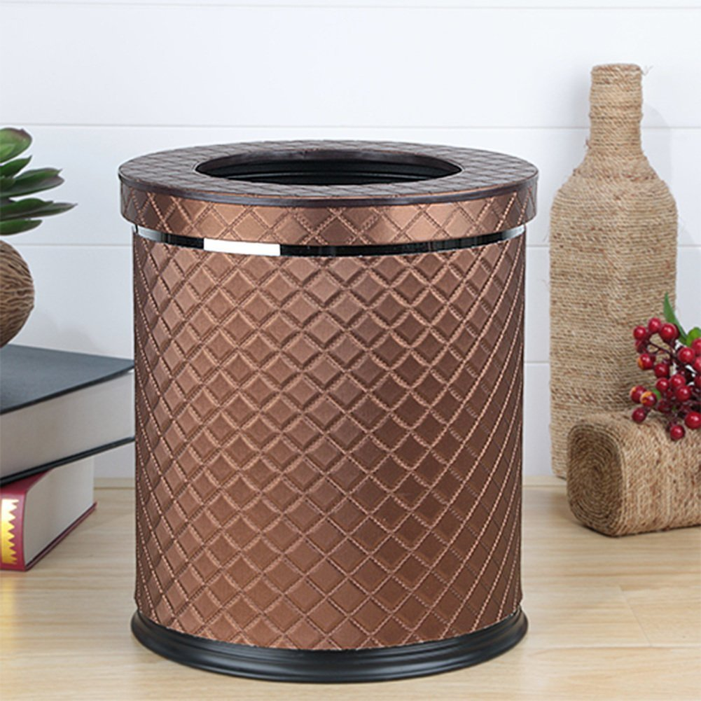 European-style household living room trash can/Kitchen bathroom trash/Creative simplicity trash-H