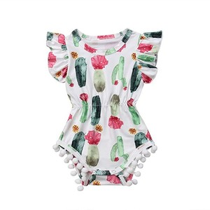 d5ec87e5f Baby Flutter Sleeve Romper Wholesale