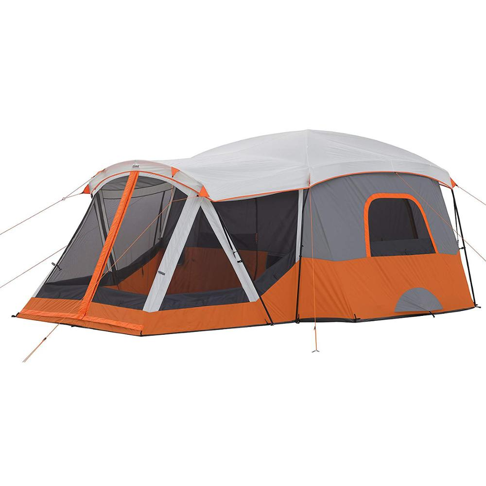 Yeler 11 Person Inflatable Cabin Tent with Screen Room for Outdoor Family