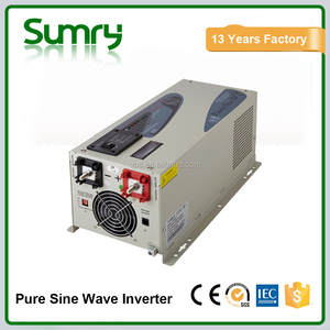 2016 hot sale pure sine wave solar micro inverter with battery charger 1000watts to 12000watts