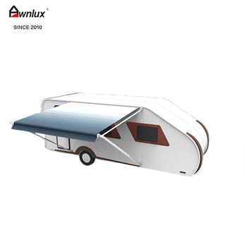 100% Waterproof Diy Aluminium Frame Roll Out Caravan Awning Sun ...