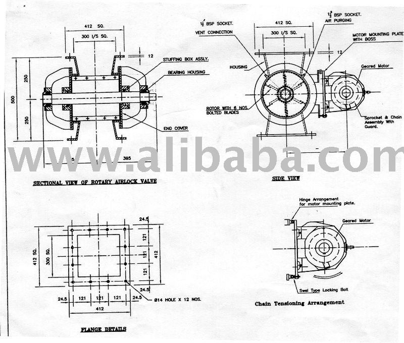 Rotary Airlock Parts Diagram Enthusiast Wiring Diagrams
