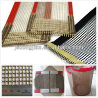 Plastic PTFE mesh conveyer belt
