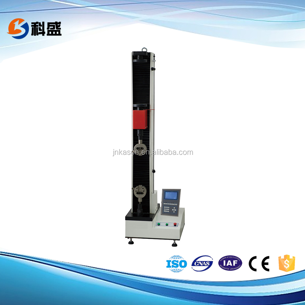 WDW-S LCD controller single column tensile and compression universal testing machine