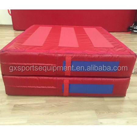 Competitive Price Jump Folding Parallel Rod Exit Gymnastics Landing Pad