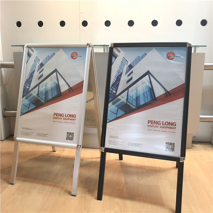A BOARD PAVEMENT SIGN A1 STAND  METAL FRAME LARGE BOARD DESIGN A-BOARD