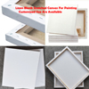 customized size linen blank stretched canvas for painting