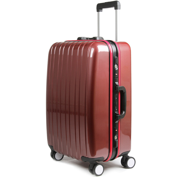 Trolley Bag Type Abs Material Black Color Luggage Bag,Aluminium ...