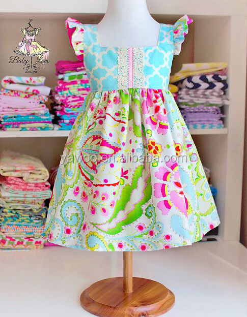 ae68a8304d7 Hot Sale fashion summer baby dress kids clothes short sleeve girls party  wear dress wholesale baby girls dance skirts outfits