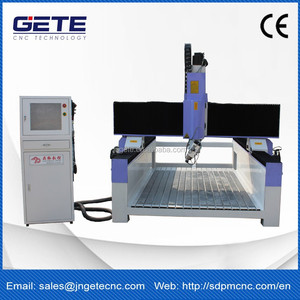Small cnc router 5 axis 3d mould processing machine for sale GT-1325