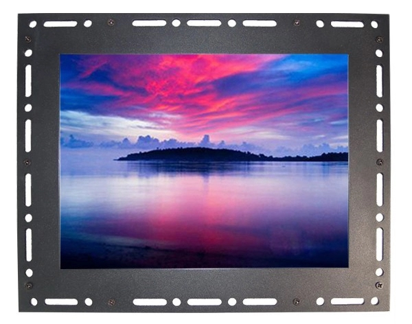 10.4 inch 800*600 open frame touch screen lcd monitor with av vga for Industrial
