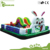 Inflatable water park slides,funny inflatable boat bouncer
