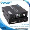 1920*1080P@60Hz EDID Pass Through Function Stereo Audio DVI To VGA Transceiver