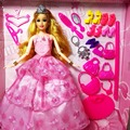 New Fashion Doll Party Wedding Dress Barbie Dolls New Style Moveable Joint Body Plastic Classic Toys