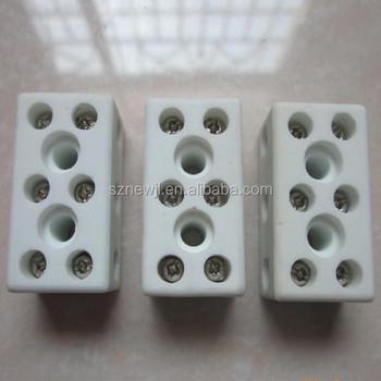 China Alibaba Hot Sale 3-way 8-hole Ceramic Terminal Block - Buy ...
