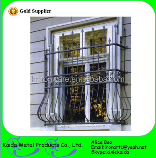 Security metal modern window grill design buy modern for Modern zen window grills design