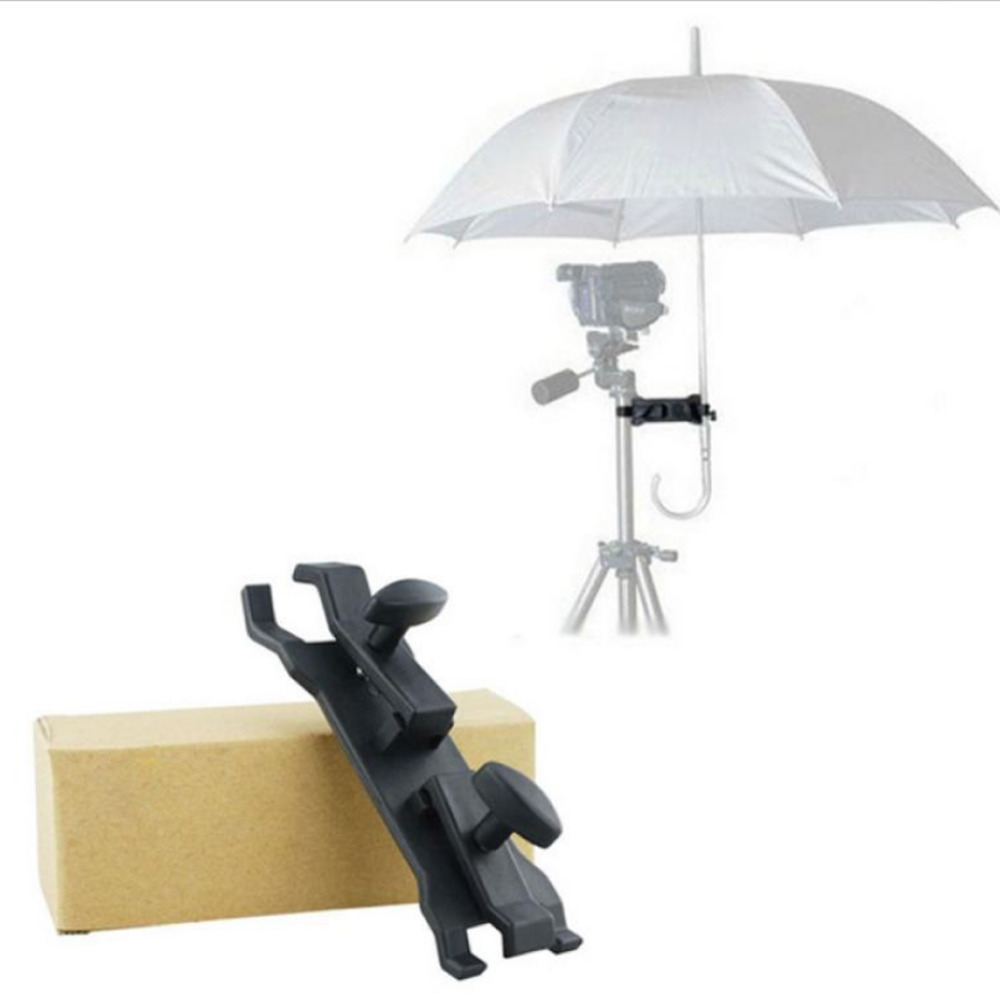 New Arrive Outdoor Camera Tripod Umbrella Clip CLamp Bracket Holder Stand Clamp for Photographic Photography
