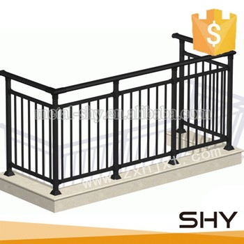 Balcon Escalier Pont Utiliser Decoration En Fer Forge Garde Corps