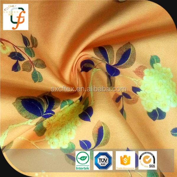 Attractive price new type embroidered satin fabric