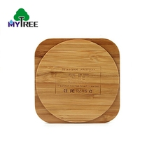 Mytree Holz Schwarz Groß Auto <span class=keywords><strong>Zubehör</strong></span> Mobile Drahtlose Ladegerät