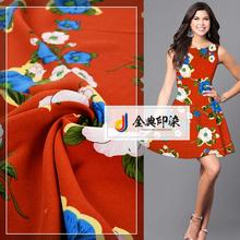 New arrival cheap comfortable garment 100% polyester printed woven fabric roll