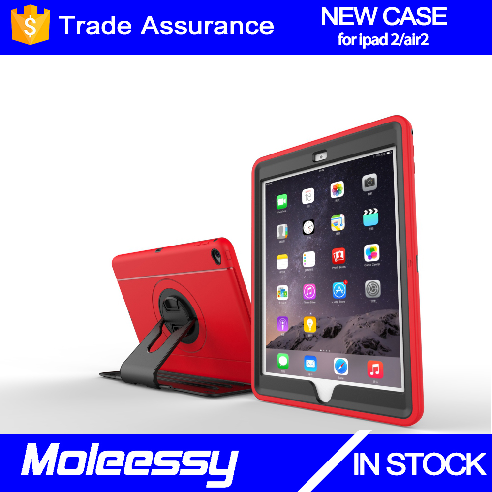 Ultra-Thin Colorful TPU Gel Rubber Soft Skin Case Cover for Apple iPad Air 2/iPad 6