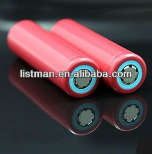 2600mAh 3.7 V battery cell/sanyo 18650 3.7v 2600 mah li-ion battery/18650 li-ion battery