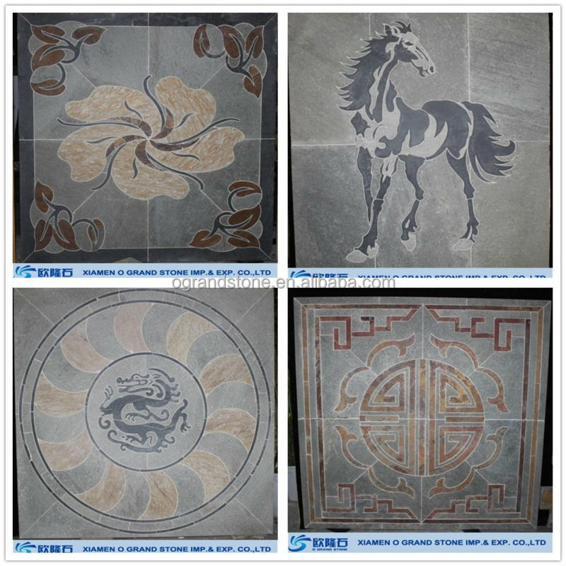Vie cheval motif m daillon mosa que plafond carrelage for Carrelage mural mosaique
