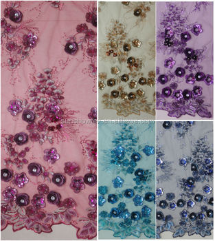 Fantastic Design Hand Embroidery Fabric For Dress