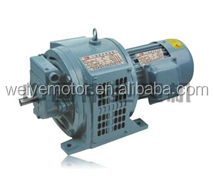 YCT series three phase adjustable electric motor with electromagnetic clutch