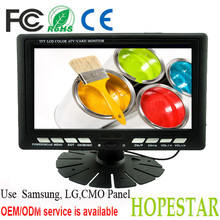 Yes Widescreen and 800*480 Resolution 7 inch LCD TV Monitor