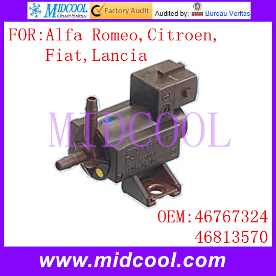 Auto Secondary Air Induction Control Valve Changeover Solenoid 46767324 46813570 FOR Alfa Romeo Citroen Fiat Lancia