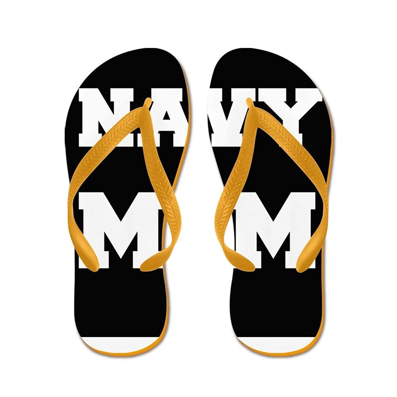 fe2406397543 Get Quotations · CafePress Navy Mom - Flip Flops