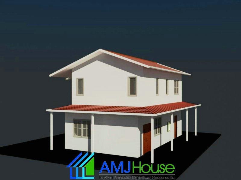 China amj casa-cabaña prefabricada playa house-Diseño de ...