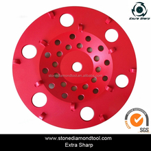 Granite Porcelain Tiles Diamond Grinding Cup Wheel