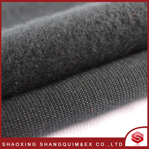2018 cheap micro one side brushed fleece solid fleece fabric