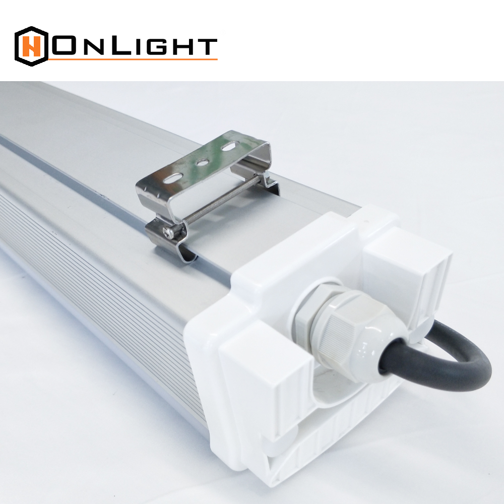 Energy Saving suspended linear fluorescent 8ft 100w aluminum housing ip65