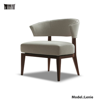 Hot New Products Fabric Hotel Solid Chair Dinning Room Chair Lenie