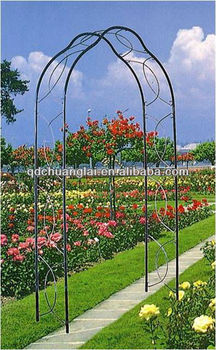 Decorative Artistic Wrought Iron Arch / Garden Arch / Rose Arch