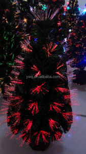 "6ft Firework Artificial Christmas Tree National Tree 48"" Fiber Optic Fireworks Shiny Gold Lantern Artificial Christmas Tree with"