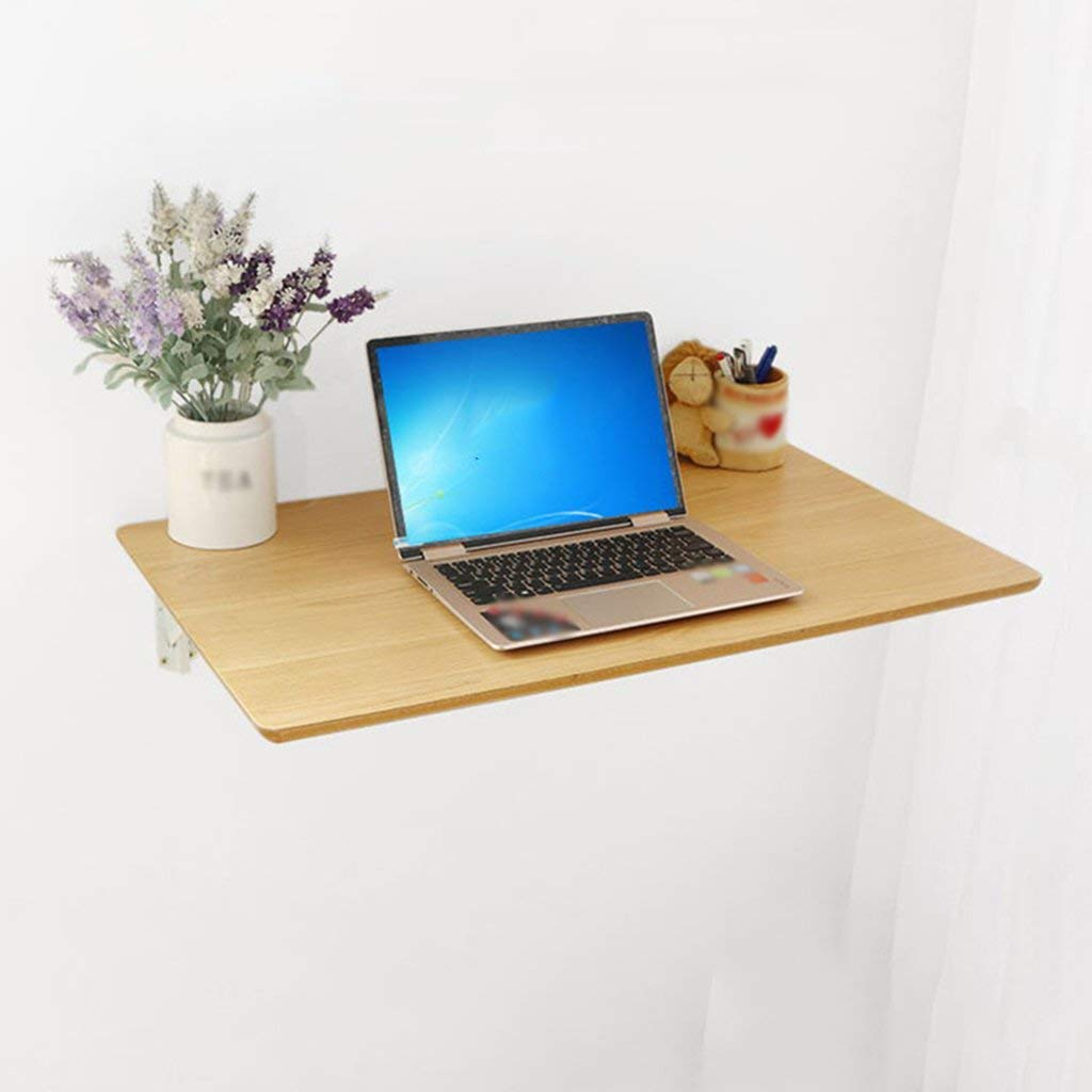 Mmdp Wall-mounted Folding Table Computer Desk Simple Wall Hanging Dining Table Side Table Laptop Table (Size : 100cm50cm)
